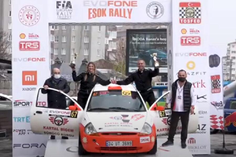 Alptekin Işıkalp – Evofone Esok Rally 2021 – Eskişehir